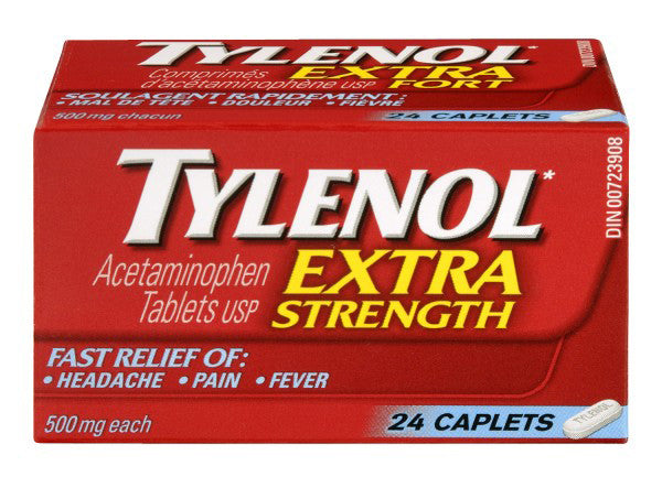 TYLENOL CPLT X-STR 24'S - Queensborough Community Pharmacy