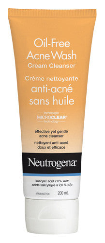 NEUTROGENA ACNE WASH CRM CLNSR 200ML - Queensborough Community Pharmacy