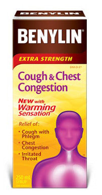 BENYLIN COUGH & CONG WARMING 250ML - Queensborough Community Pharmacy