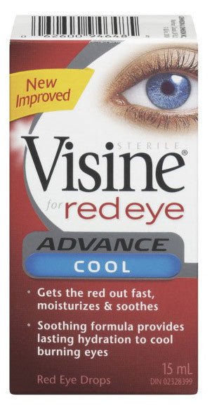 VISINE ADVANCE COOL 15ML - Queensborough Community Pharmacy