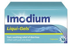 IMODIUM LIQUID GELS 24'S - Queensborough Community Pharmacy