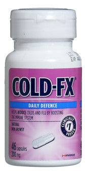 COLD-FX REG STRENGTH CAPS 46'S - Queensborough Community Pharmacy