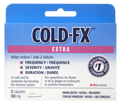 COLD-FX X-STR CAPS SLEEVE 12'S - Queensborough Community Pharmacy