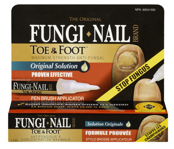 FUNGI-NAIL TOE & FOOT PEN 1.7ML - Queensborough Community Pharmacy