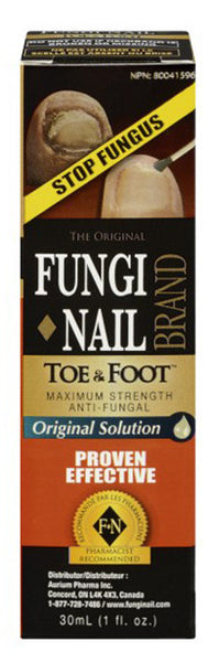 FUNGI-NAIL TOE & FOOT LIQUID 30ML - Queensborough Community Pharmacy