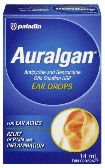 AURALGAN SOLUTION 14ML - Queensborough Community Pharmacy