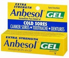 ANBESOL GEL X-STR 7G - Queensborough Community Pharmacy