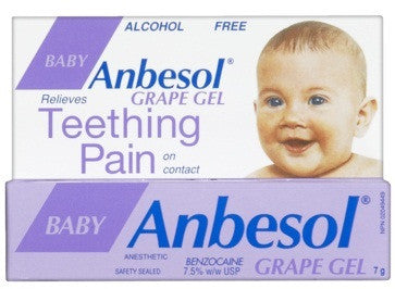ANBESOL GEL FOR BABIES GRAPE 7G - Queensborough Community Pharmacy