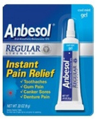 ANBESOL GEL 7G - Queensborough Community Pharmacy