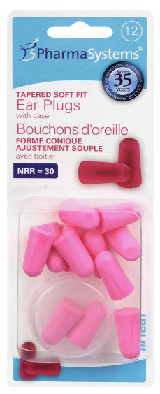BYPINK TAPERFIT EAR PLUGS 12'S PS862 - Queensborough Community Pharmacy