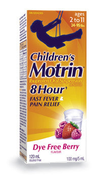 MOTRIN IB CHILD SUSP BRY DY FR 120ML - Queensborough Community Pharmacy