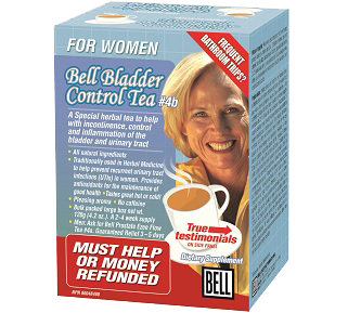 Bell #4b Bladder Control Tea for Women 120gr - Queensborough Community Pharmacy