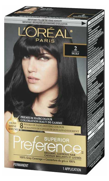 L'OREAL PREFERENCE NAT BLK #2 - Queensborough Community Pharmacy