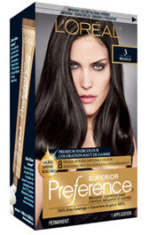 L'OREAL PREFERENCE DARK BROWN #3 - Queensborough Community Pharmacy