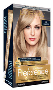 L'OREAL PREFERENCE MED BLONDE #8 - Queensborough Community Pharmacy