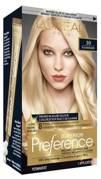 L'OREAL PREFERENCE DREAM BLONDS ALURING PEONY #10 - Queensborough Community Pharmacy