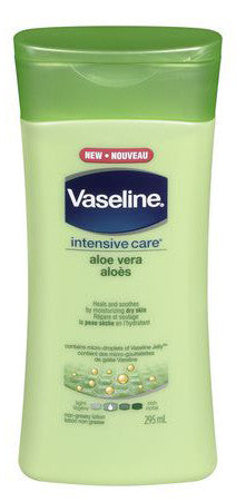 VASELINE ALOE + NATURALS 295ML - Queensborough Community Pharmacy