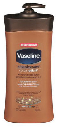 VASELINE INTENSIVE CARE LOTION COCOA BUTTER 600ML - Queensborough Community Pharmacy