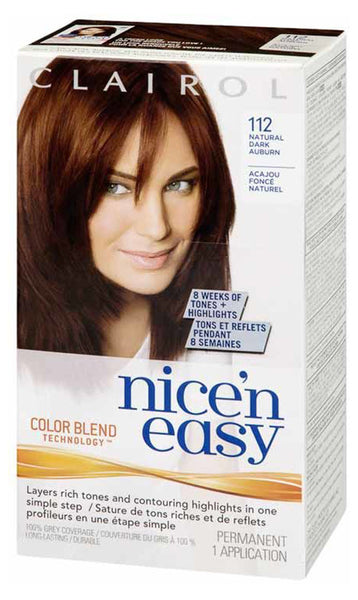 NICE'N EASY NAT DARK AUBURN #112 - Queensborough Community Pharmacy