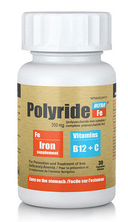 POLYRIDE FE ULTRA CAPSULES 30'S - Queensborough Community Pharmacy