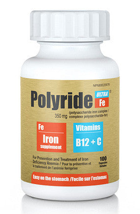 POLYRIDE FE ULTRA CAPSULES 100'S - Queensborough Community Pharmacy