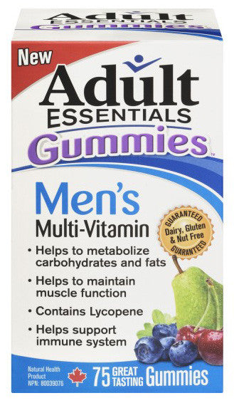 ADULT ESSENTIALS FOR MEN 75'S - Queensborough Community Pharmacy