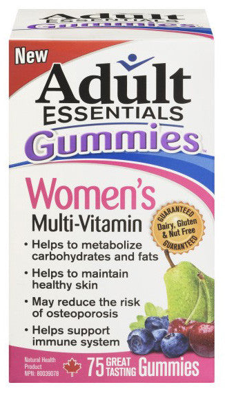ADULT ESSENTIALS FOR WOMEN 75'S - Queensborough Community Pharmacy