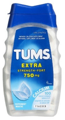 TUMS X-STR REGULAR 100'S - Queensborough Community Pharmacy