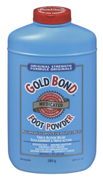 GOLD BOND MEDIC FOOT PWD 283G - Queensborough Community Pharmacy
