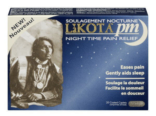 LAKOTA PM NIGHTTIME PAIN RELIEF 20'S - Queensborough Community Pharmacy