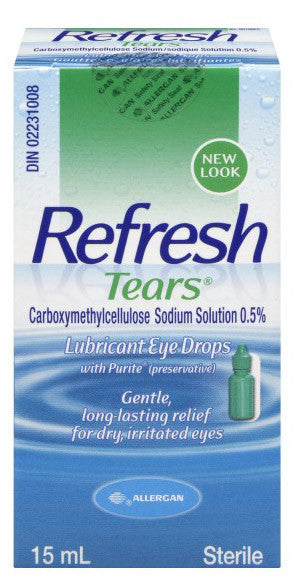ALLERGAN REFRESH TEARS 15ML - Queensborough Community Pharmacy