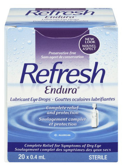 ALLERGAN REFRESH ENDURA LUB EYE DROPS 20/.4ML - Queensborough Community Pharmacy