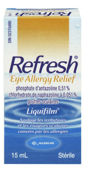 ALLERGAN REFRESH EYE ALLERGY RELIEF15ML - Queensborough Community Pharmacy