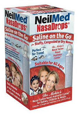 NEILMED NASADROPS SALINE 15ML - Queensborough Community Pharmacy