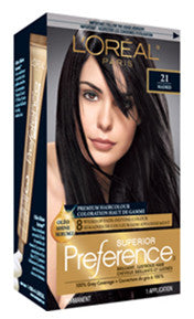 L'OREAL PREFERENCE PUREST BLACK #21 - Queensborough Community Pharmacy