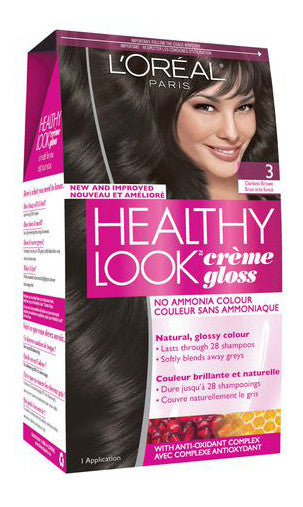 L'OREAL HEALTHY LOOK DKEST BROWN #3 - Queensborough Community Pharmacy