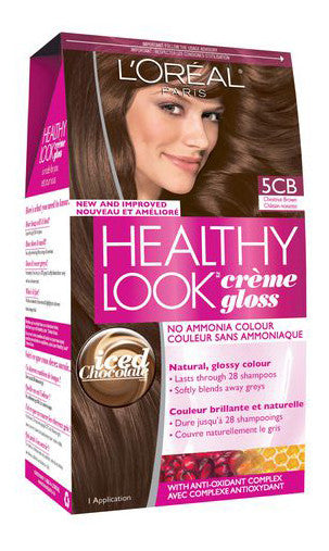 L'OREAL HEALTHY LOOK CHESTNUT BROWN#5CB - Queensborough Community Pharmacy