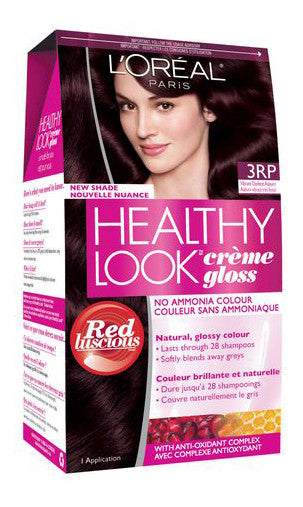 L'OREAL HEALTHY LOOK VIBRANT DARKEST AUBURN #3RP - Queensborough Community Pharmacy