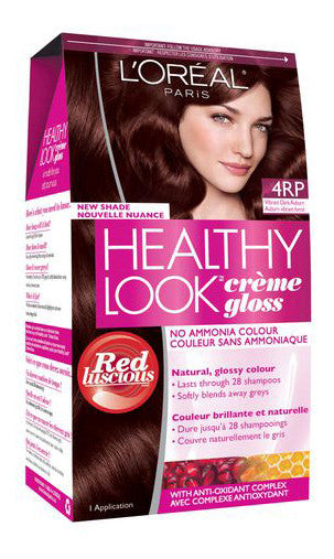 L'OREAL HEALTHY LOOK VIBRANT AUBURN#4RP - Queensborough Community Pharmacy