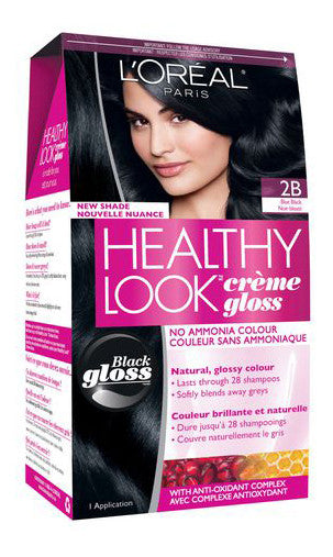 L'OREAL HEALTHY LOOK BLUE BLACK #2B - Queensborough Community Pharmacy