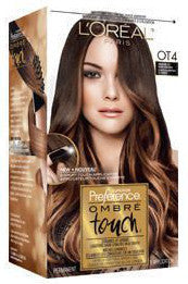 L'OR��L PREFERENCE OMBRE TOUCH MEDIUM DARK BROWN 1'S - Queensborough Community Pharmacy