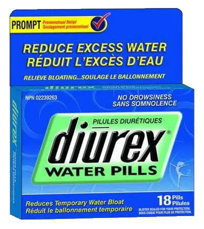 DIUREX WATER PILLS 18'S - Queensborough Community Pharmacy