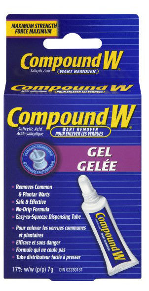 COMPOUND W GEL 7G - Queensborough Community Pharmacy