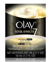 OLAY TOTAL EFFECTS NIGHT CREAM 50ML - Queensborough Community Pharmacy