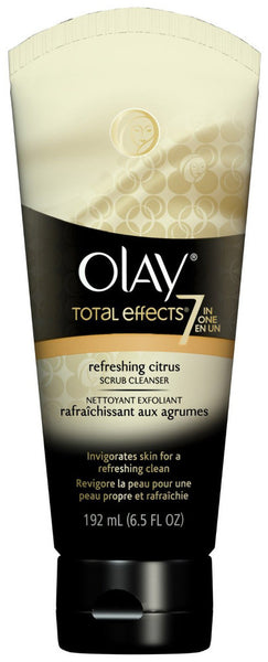 OLAY TOTAL EFFECTS CITRUS SCRUB 192ML - Queensborough Community Pharmacy