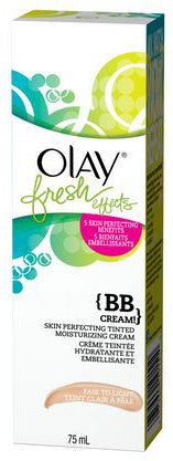 OLAY FRESH EFFECT SKIN PERFECT TINTED MOISTURIZING CRM FAIR TO LGHT 75ML - Queensborough Community Pharmacy