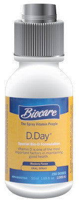 BIOCARE VITAMIN D ORAL SPRAY 50ML - Queensborough Community Pharmacy