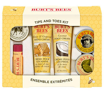BURT'S BEES TIPS N' TOES HANDS & FEET KIT 1'S - Queensborough Community Pharmacy