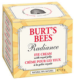 BURT'S BEES EYE CRM ROYAL JELLY 14G - Queensborough Community Pharmacy