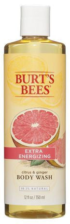 BURT'S BEES B/WASH CITRUS&GNGR 350ML - Queensborough Community Pharmacy